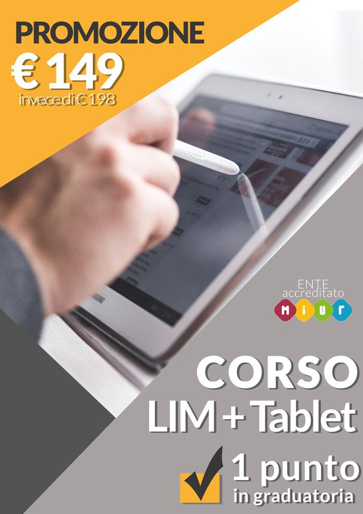 Corso Lim+Tablet 149euro