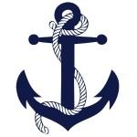 Navy-anchor