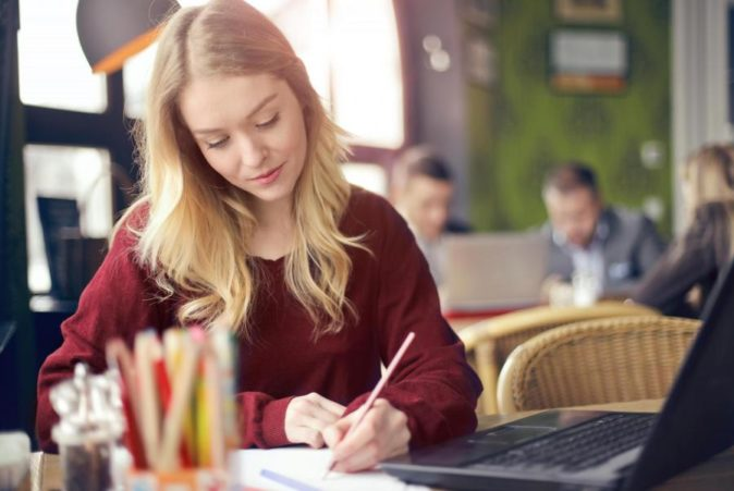 university-student-studying